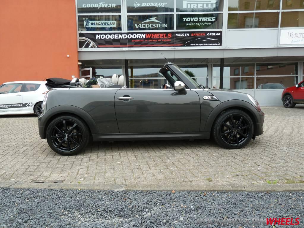 Mini Mini Cabriolet R57 Borbet Lv4 17 Inch Zwart
