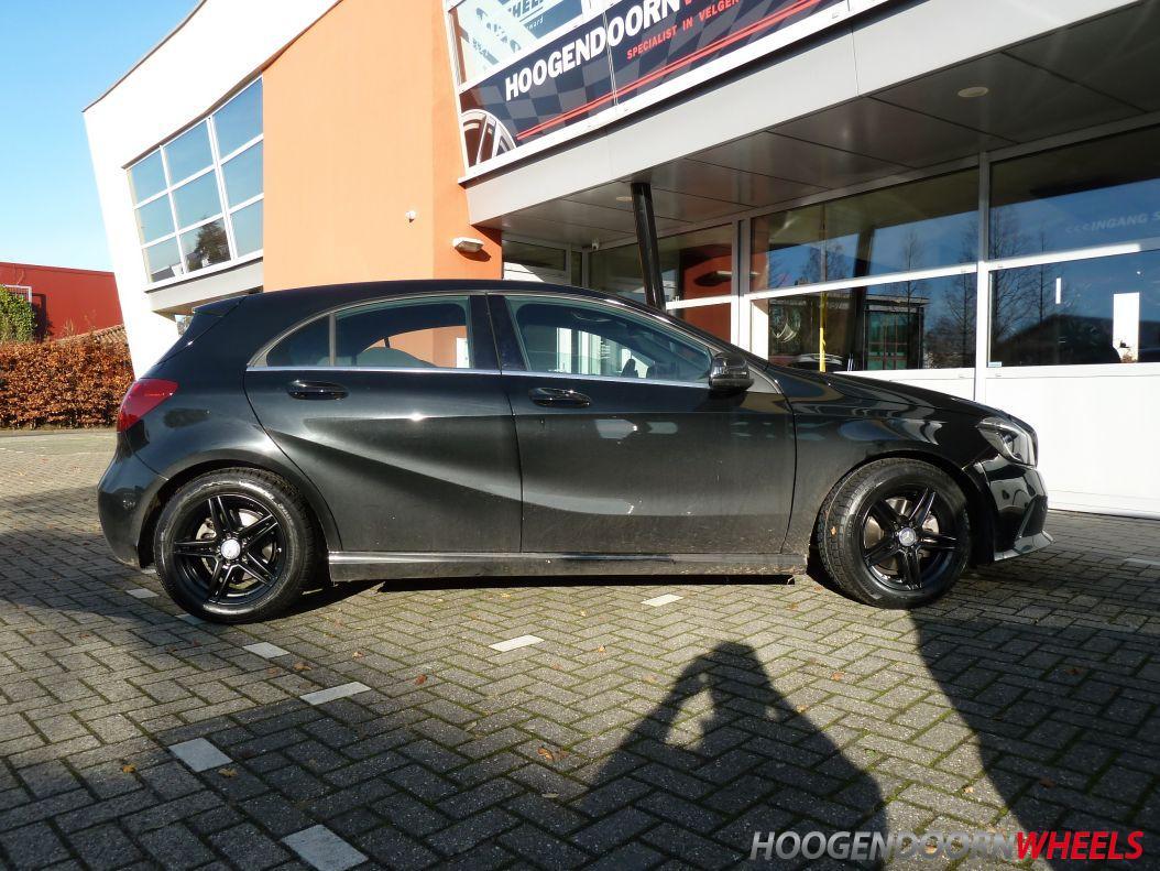 Mercedes A Klasse W169 Borbet Xr 17 Inch Zwart