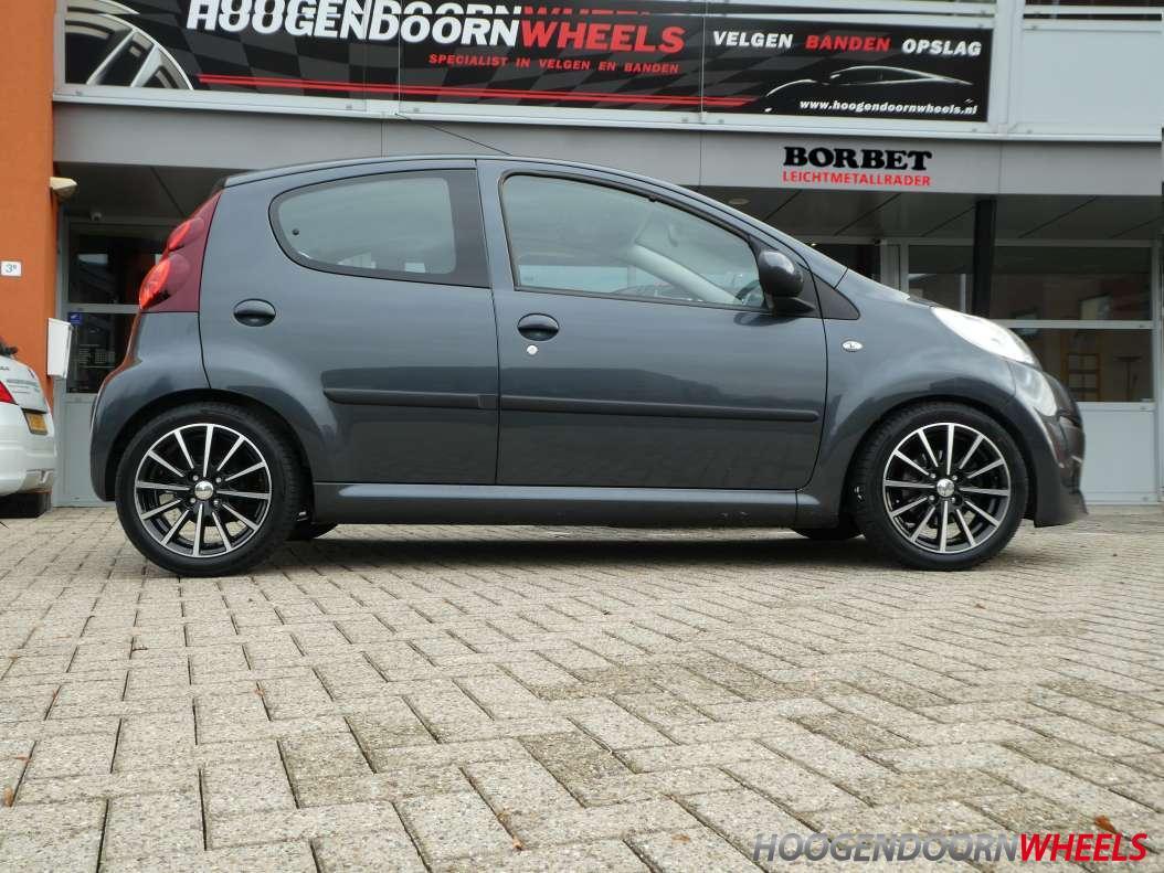 Peugeot 107 Borbet Bl4
