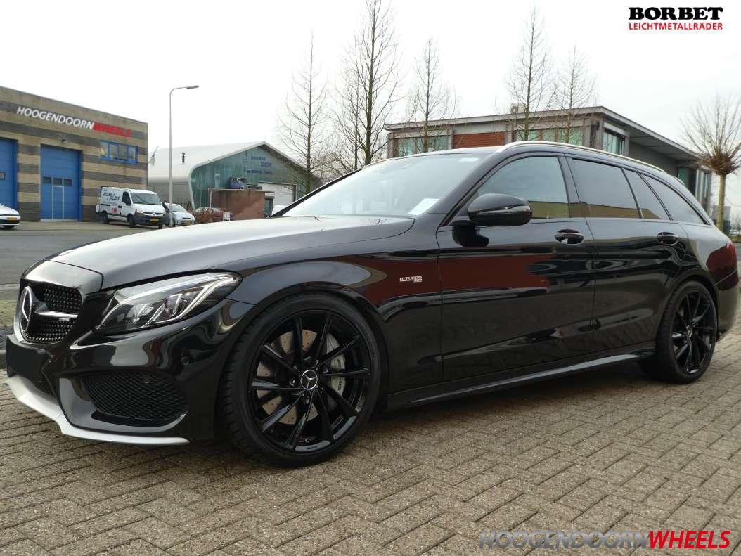 Mercedes C Klasse W205 2014 Borbet Vtx