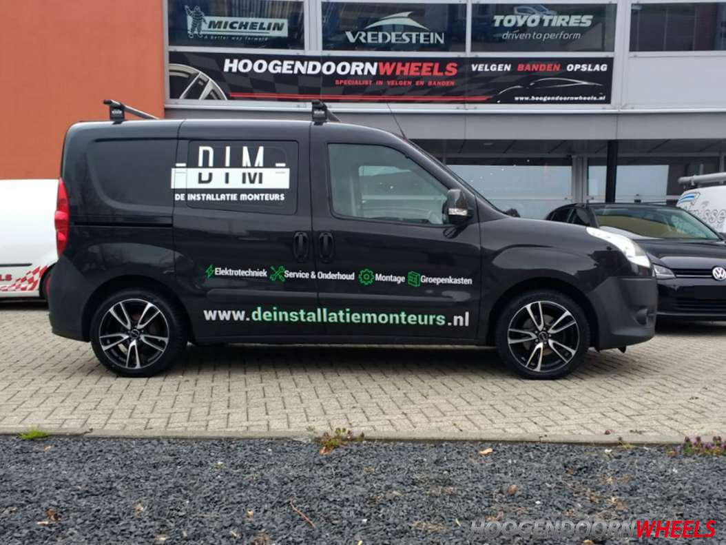 Fiat Doblo 152 263 Gmp Wheels Astral