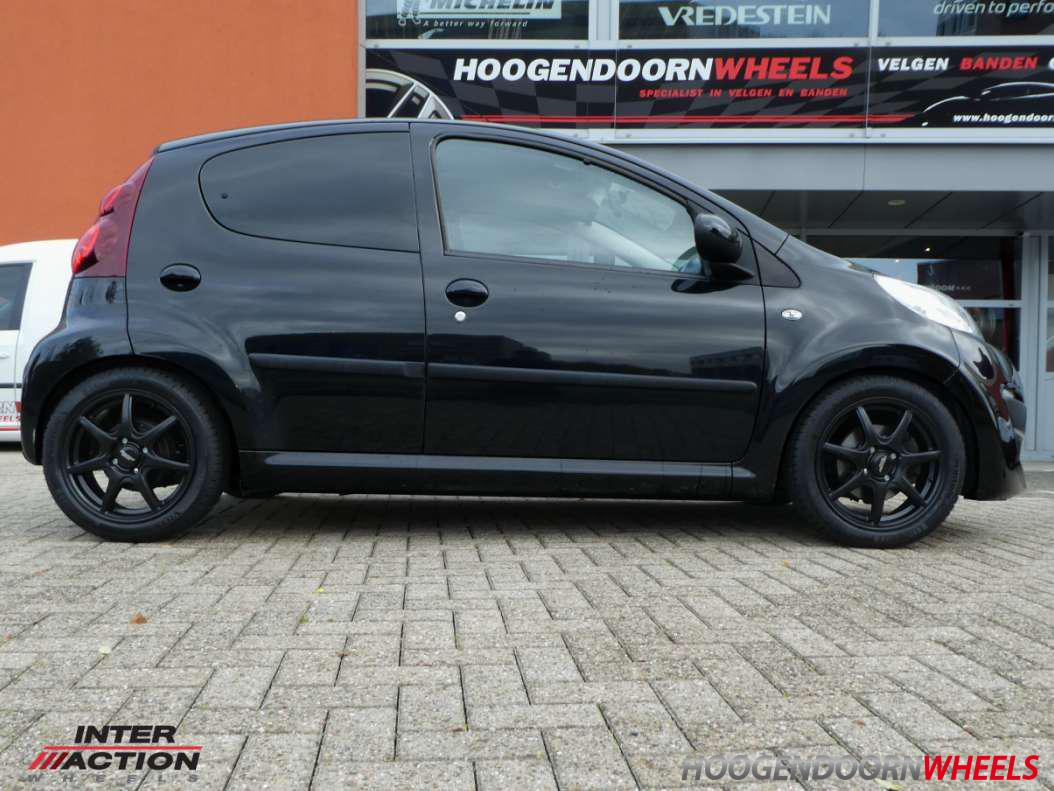 Peugeot 107 Inter Action 2 Black Ice
