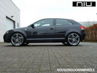 NIU WHEELS IGOLSTADT ANTRACIET GEPOLIJST IN 19 INCH