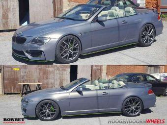 BORBET BY 20 EN 21 INCH BREEDSET BMW 6 SERIE CABRIO VERSTUURD NAAR ENGELSE KLANT