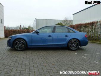 Niu Wheels Ingolstadt 17 inch gemonteerd onder een Audi A-4